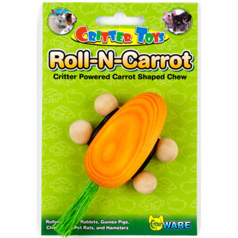 WARE Roll-N-Carrot Chew Toy