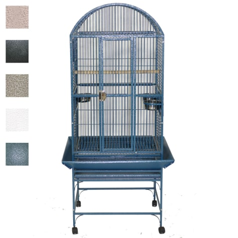 A&E Cage Company Classico Dometop Medium Bird Cage in Black
