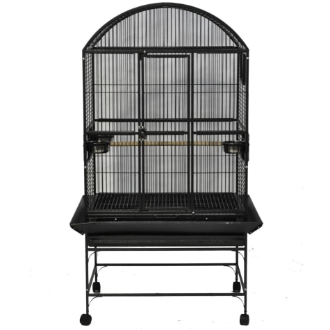 A&E Cage Company Stainless Steel Palace Dometop Bird Cage