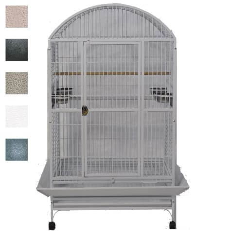 A&E Cage Company Grey Palace Dometop X-Large Bird Cage