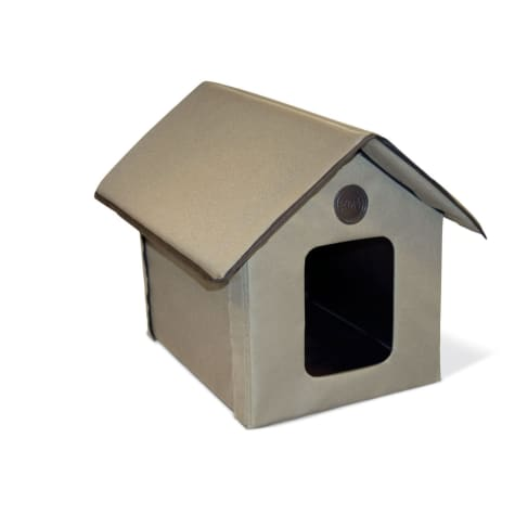 K&H Outdoor Kitty House in Olive