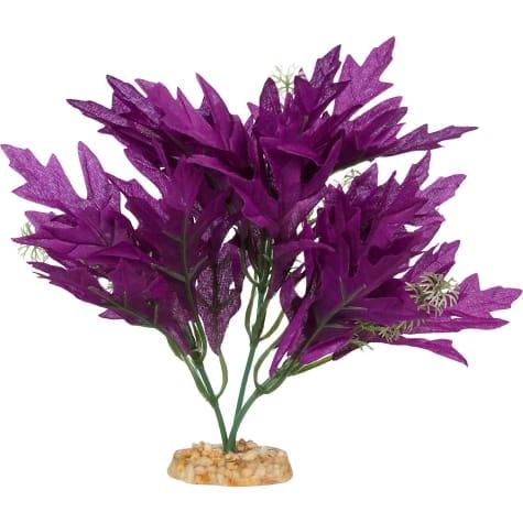 Imagitarium Purple Bunch Silk Aquarium Plant