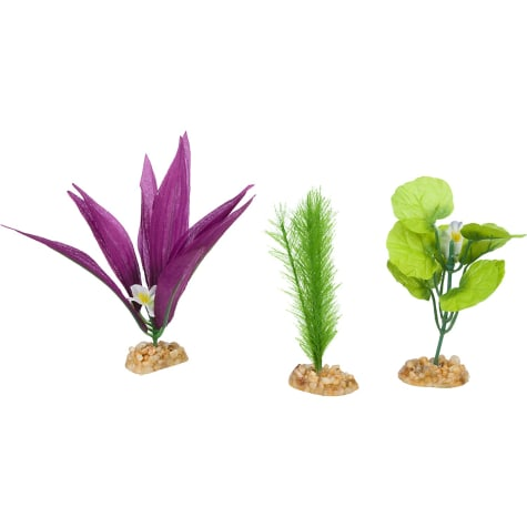 Imagitarium Foreground Multi-Pack Silk Aquarium Plants