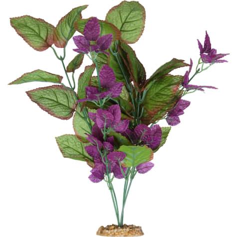 Imagitarium Purple Cluster Silk Aquarium Plant