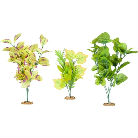 Imagitarium Background Plant Multi-Pack Silk Aquarium Plants