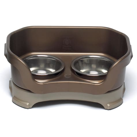 Neater Brands Bronze Elevated Cat Diner