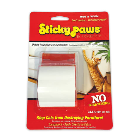 Sticky Paws on a Roll for Cats