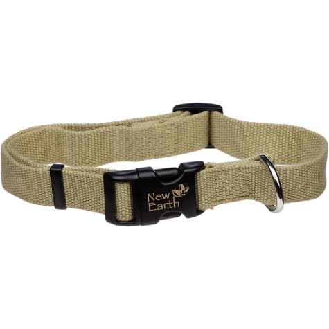 Coastal Pet New Earth Adjustable Personalized Soy Dog Collar in Olive
