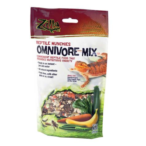 Zilla Omnivore Reptile Munchies Reptile Food