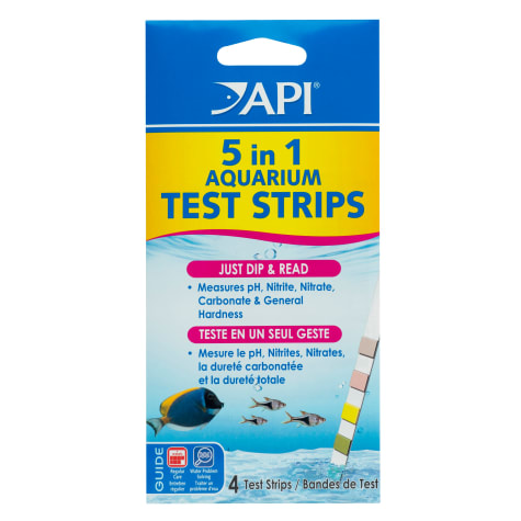 API 5 in 1 Aquarium Water Test Strips