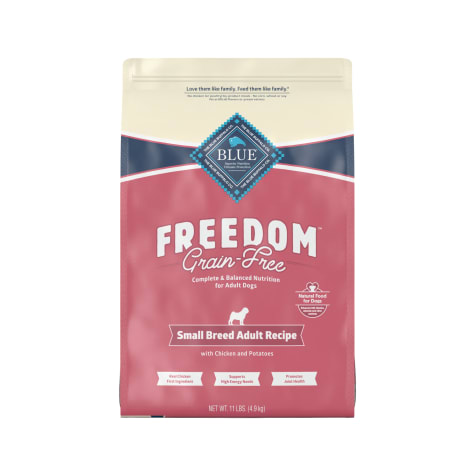 Blue Buffalo Blue Freedom Grain-Free Small Breed Adult Chicken Recipe Dry Dog Food