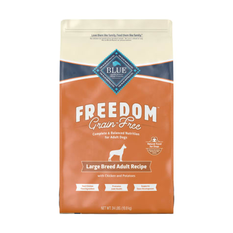 Blue Buffalo Blue Freedom Grain-Free Large Breed Adult Chicken Recipe Dry Dog Food