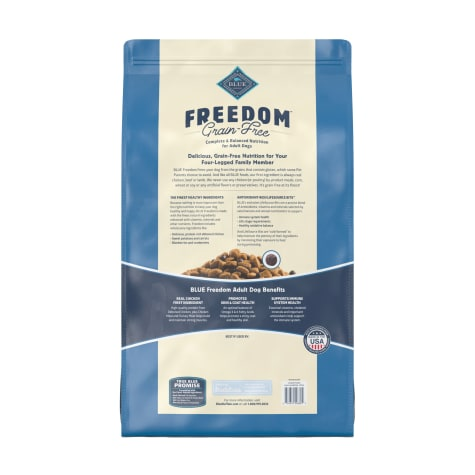 Blue Buffalo Freedom Grain Free Natural Adult Chicken Dry Dog Food 24 Lbs Petco