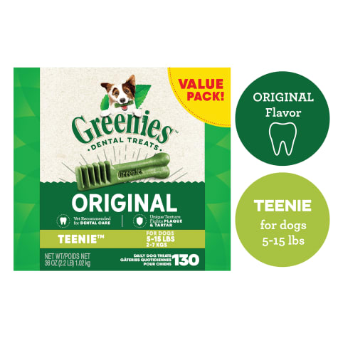 Greenies Original Teenie Dental Dog Treats
