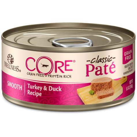 Wellness CORE Natural Grain Free Turkey & Duck Pate Wet Cat Food