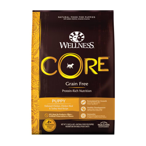Wellness CORE Natural Grain Free Puppy Health Recipe Dry Dog Food