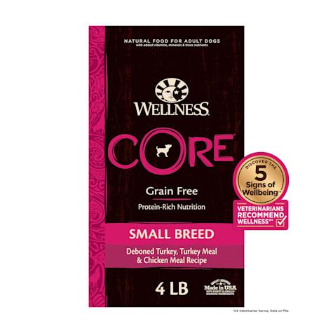 Wellness CORE Natural Grain Free Small Breed Health Recipe Dry Dog Food
