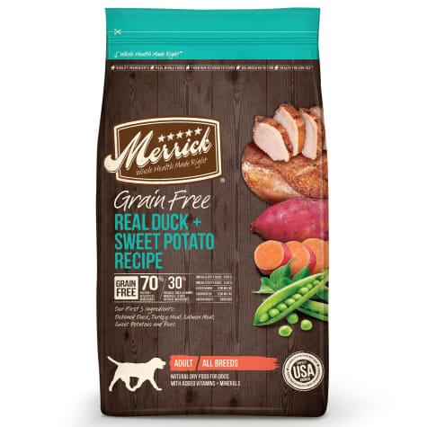 Merrick Grain Free Real Duck + Sweet Potato Dry Dog Food