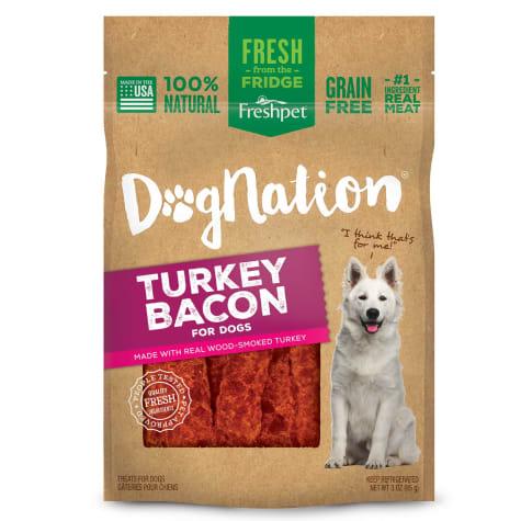 Freshpet Dognation Turkey Bacon Dog Treats