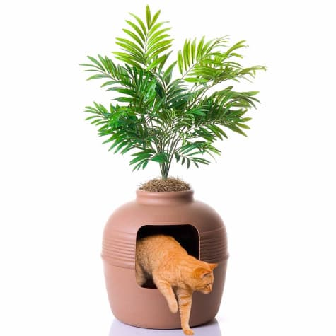 "Good Pet Stuff Plant Hidden Litter Box, 48"" H X 19"" Diameter 