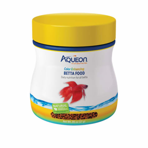Aqueon Betta Color Enhancing Pellets Betta Food
