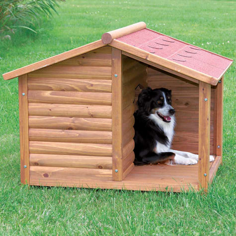 Trixie Natura Log Dog House 51 L X 39