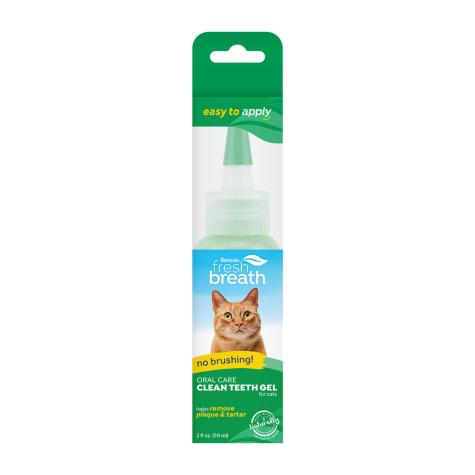 TropiClean Fresh Breath Clean Teeth Gel for Cats