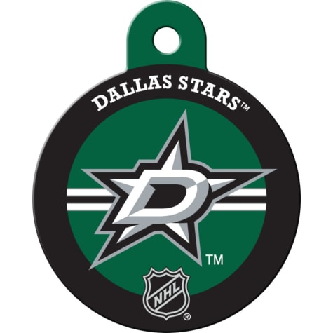 Quick-Tag Dallas Stars NHL Personalized Engraved Pet ID Tag, Large