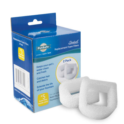Drinkwell Pet Fountain Replacement Foam Filters