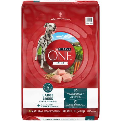 Purina ONE Natural SmartBlend Large Breed Formula Dry Puppy Food
