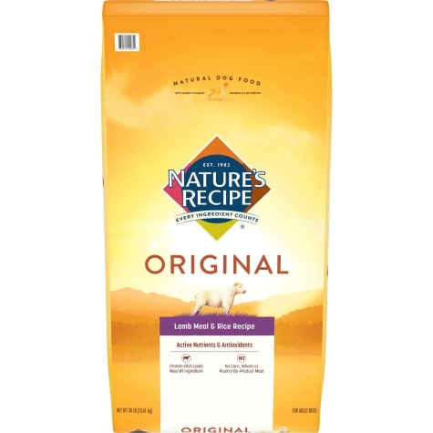 Nature's Recipe Adult Dog Lamb Meal & Rice Formula