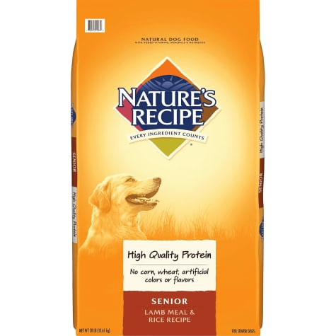 Nature's Recipe Senior Lamb & Rice Formula Dry Dog Food