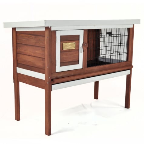 Advantek Penthouse Rabbit Hutch in Auburn