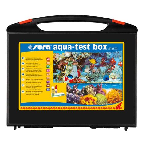 Sera Aqua-Test Box Marin Master Test Kit for Saltwater Aquariums
