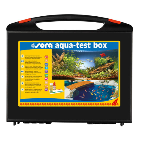 Sera Aqua-Test Box Freshwater Master Test Kit