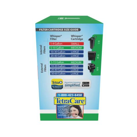 Tetra Whisper Bio-Bag Medium Disposable Filter Cartridges for Aquariums