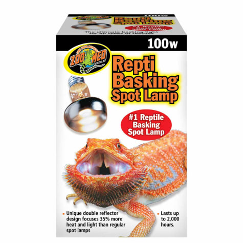 Zoo Med Repti Basking Spot Lamps, 100 Watts