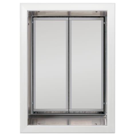 Plexidor Wall Mount Pet Door in White