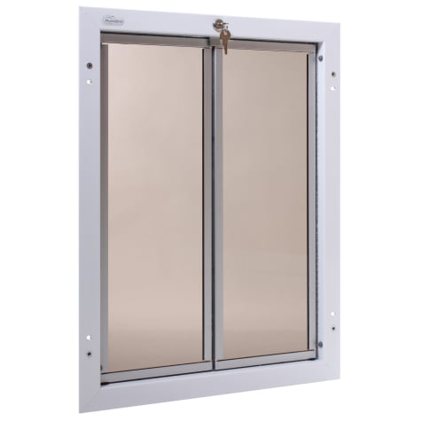 Plexidor Door Mount Pet Door in White