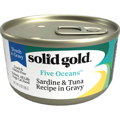 Solid Gold Five Oceans Sardine & Tuna Grain Free Canned Cat Food
