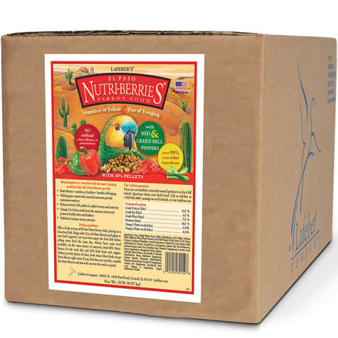 Lafeber's El Paso Nutri-Berries with Bell Peppers Parrot Food