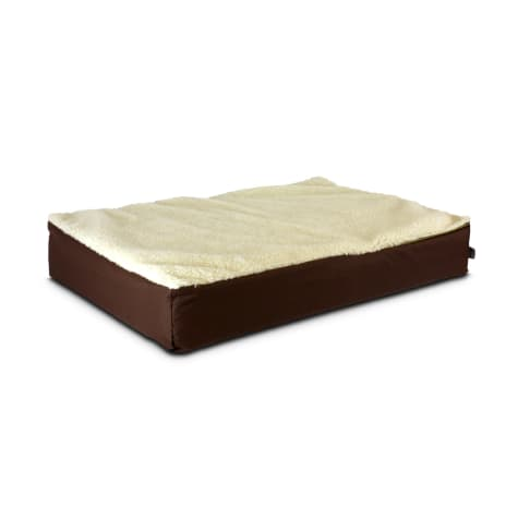 Snoozer Super Orthopedic Lounger in Brown & Cream