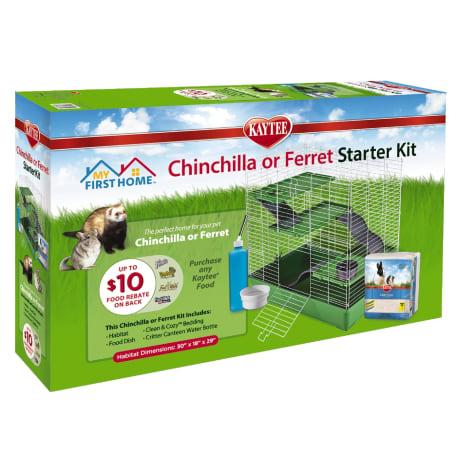 Kaytee My First Home Ferret or Chinchilla Starter Kit