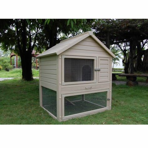 New Age Pet Eco-Concepts Huntington Rabbit Hutch with Pen