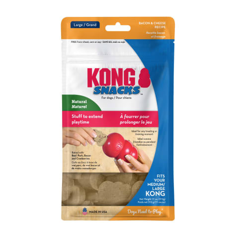 KONG Snacks Bacon and Cheese for Dogs