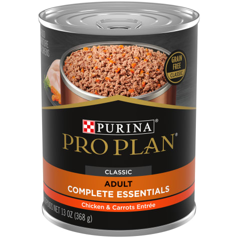 Purina Pro Plan Grain Free Pate Savor Chicken & Carrots Entree Wet Dog Food