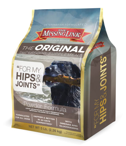 The Missing Link Original Superfood Supplement for Hips & Joints for Dogs