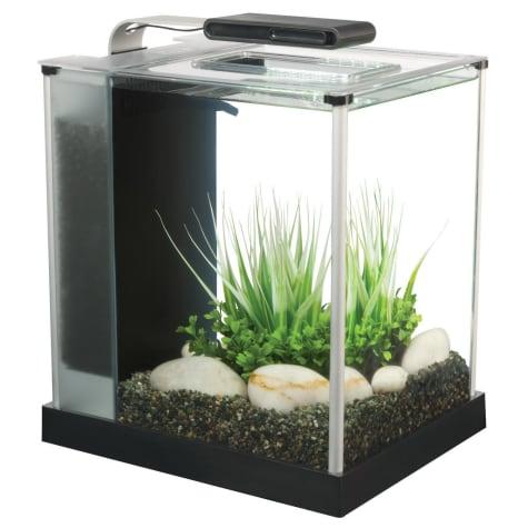Fluval 2.6 Gallon Spec III Aquarium Kit, Black