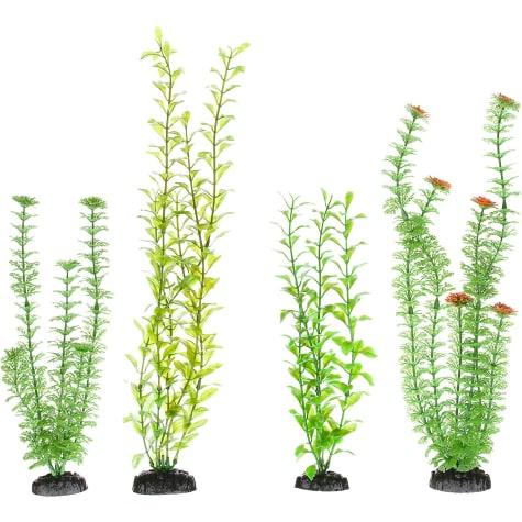 Imagitarium Variety Pack Background Plastic Aquarium Plants
