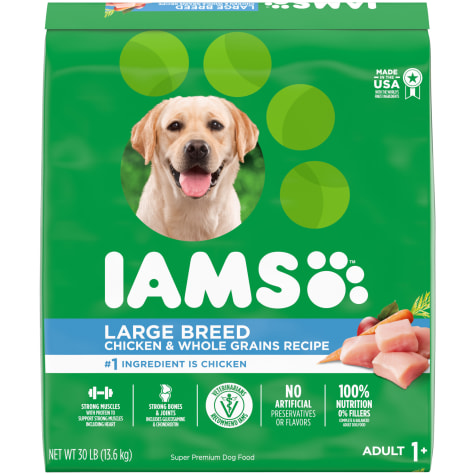 Iams ProActive Health Adult High Protein with Real Chicken Large Breed Dry Dog Food